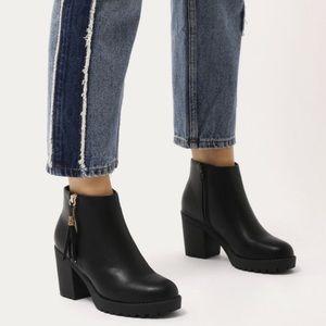 Public Desire chunky heel boots